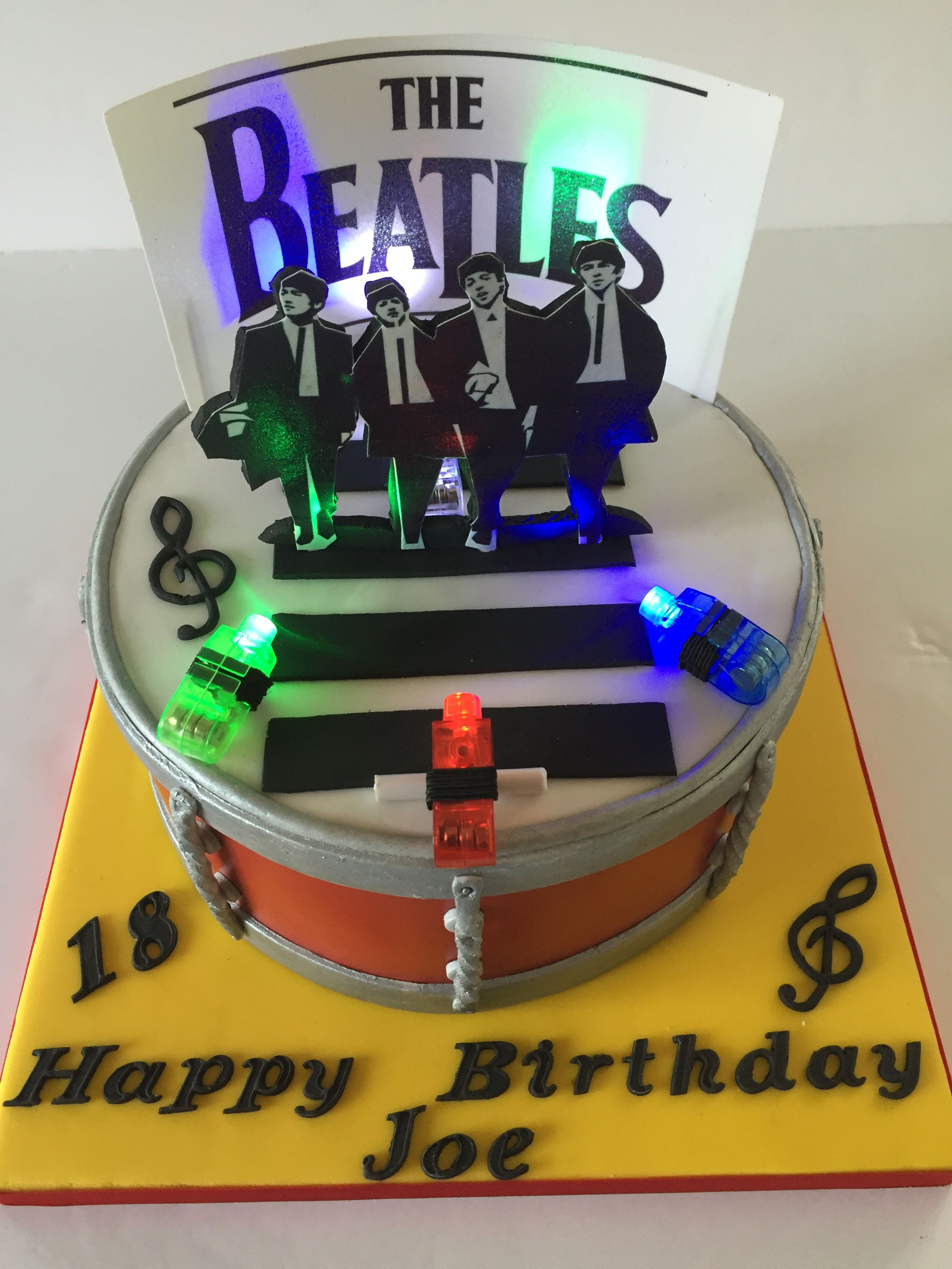 Image result for beatles birthday cake joe