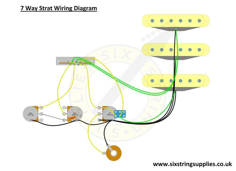 7 Way Wiring Guitar - Wiring Diagrams Home David Gilmour Wiring Mod Diagram on