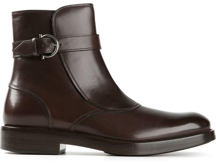 a804edd883 Salvatore Ferragamo  Power  boots Zapato De Vestir Hombre