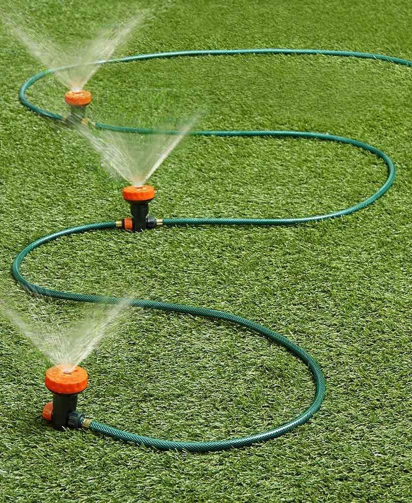 Portable Sprinkler System Set Sprinkler Lawn Decor Sprinkler System