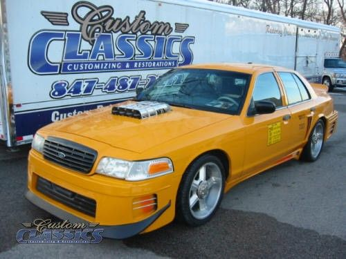 1999 Ford Crown Victoria From The Movie Taxi Movie Cars