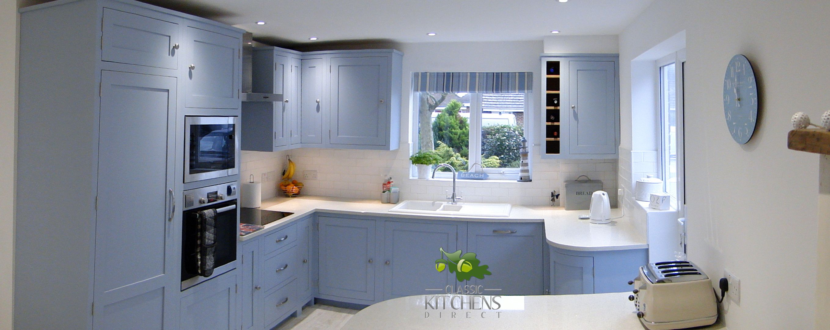 A lovely example of our handmade kitchens #handmade #
