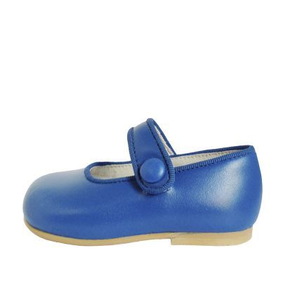 93dd778f8 Merceditas azules de niña para celebraciones. Made in Spain. Zapatos Azules