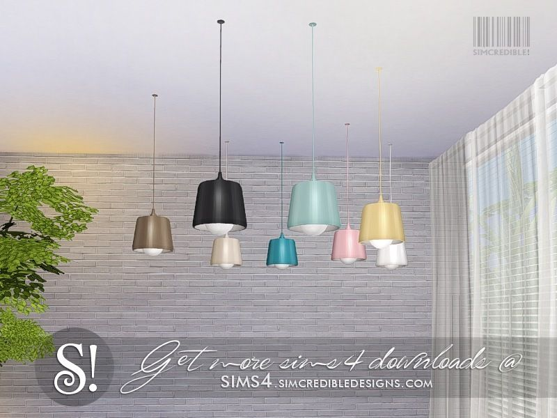 By Simcredibledesigns Com Found In Tsr Category Sims 4 Ceiling Lamps Ceiling Lamp Ceiling Lamp
