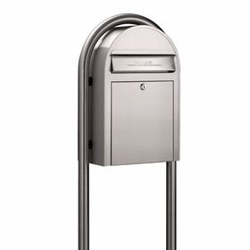 Usps Bobi Classic Stainless Steel Front Access Mailbox Post Sold Separately Modern Mailbox Mailboxes For Sale