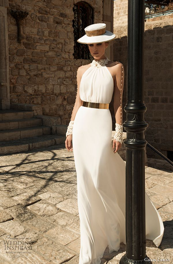 galia lahav couture spring 2015 wedding dress florentina front view 2 -  FABULOUSLY ORIGINAL DESIGN! 5c99953eca80