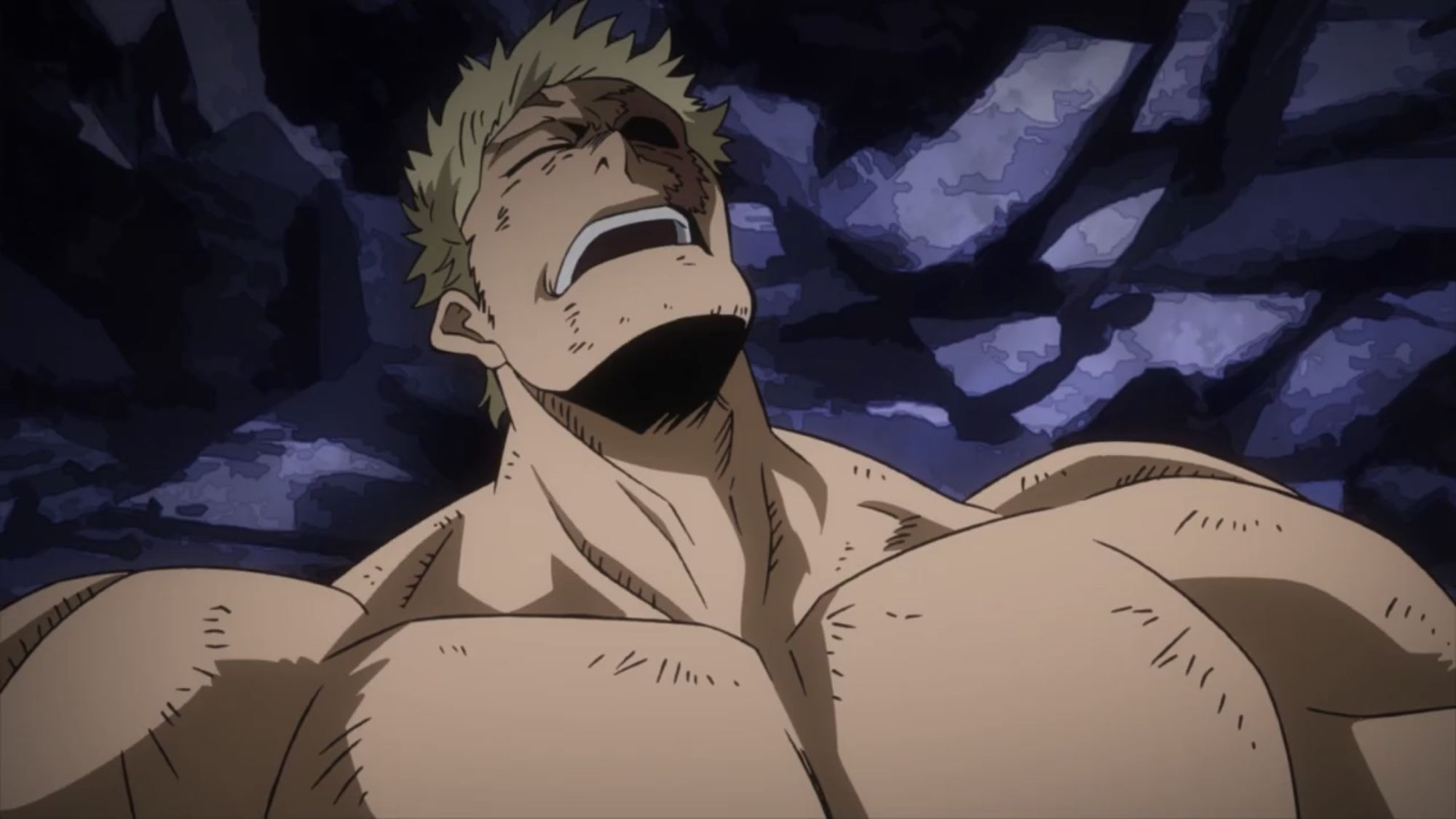 Muscular Villain Boku No Hero Academia Concept Art Characters My Hero Villain