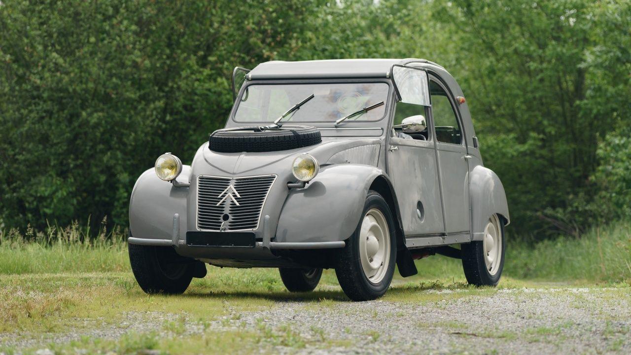 1962 Citroen 2cv 2 Cv Sahara 4x4 Bi Moteur Citroen Citroen 2cv 4x4