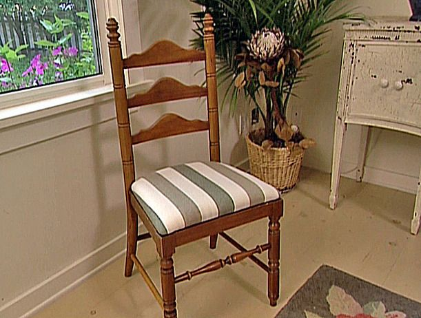 How To Reupholster A Seat Pad Dining ChairUpholstered Room
