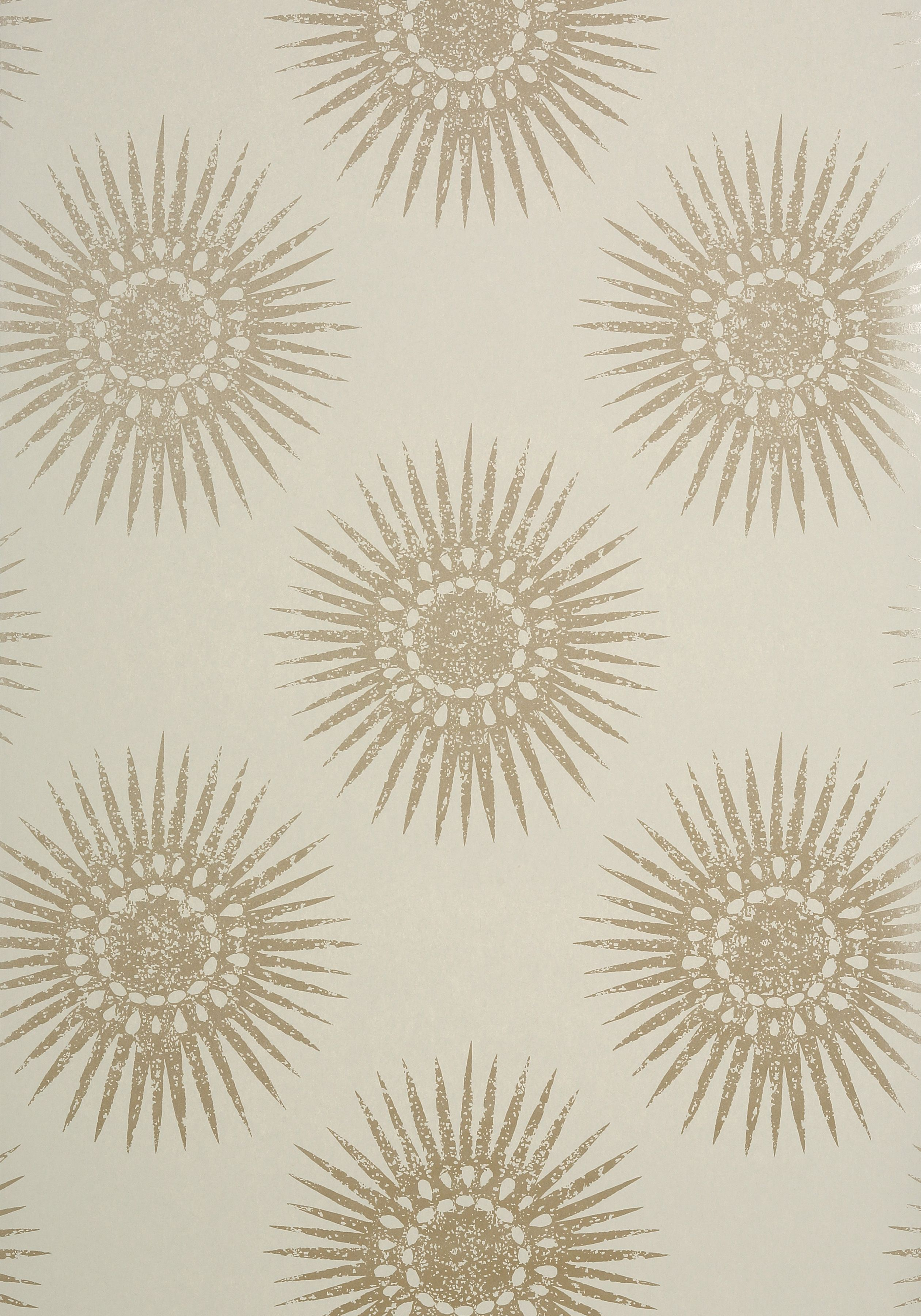 Bahia Metallic Pewter On Linen T35145 Collection Graphic
