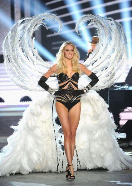 ec822f5f4e2 Lindsay Ellingson Victoria s Secret Fashion Show 2012 Silver Screen Angels