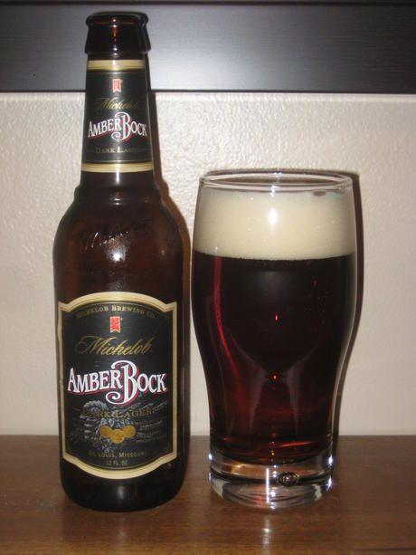 Michelob Amber Bock Bier