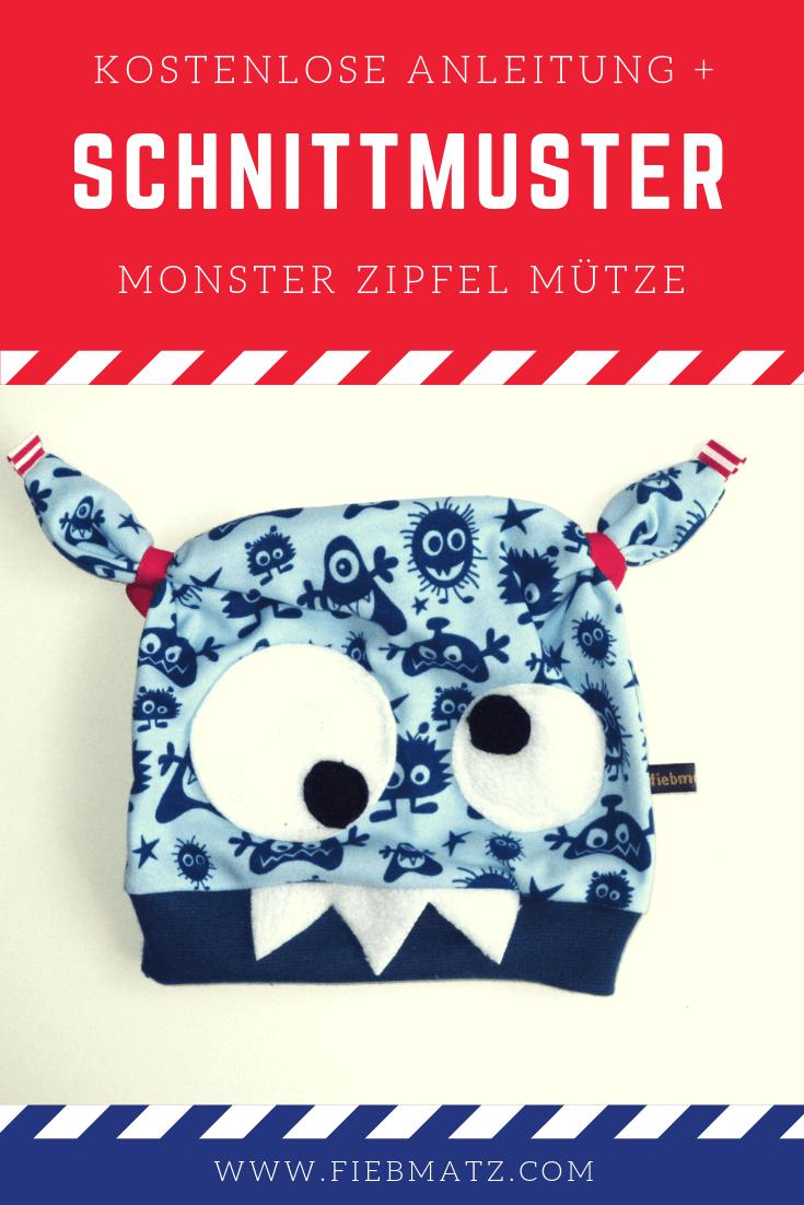 Anleitung: Geniale Monster Mütze!