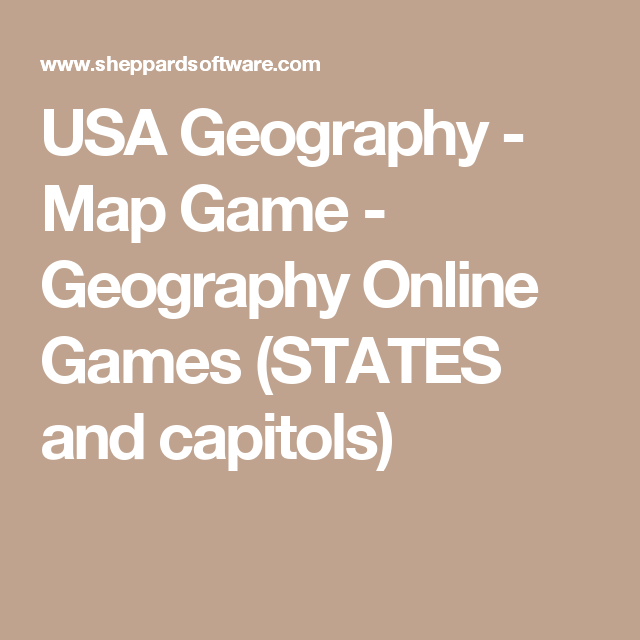 USA Geography Map Game Geography Online Games STATES And - Us geography map game