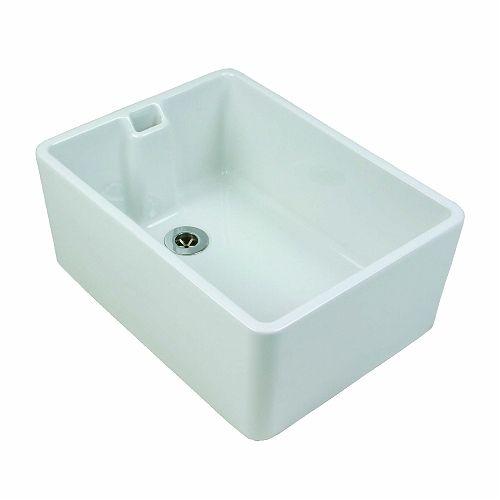 Belfast Sink 475x390x215 Plain Professional Products Twyford Belfast Sink Sink Kitchen Sink