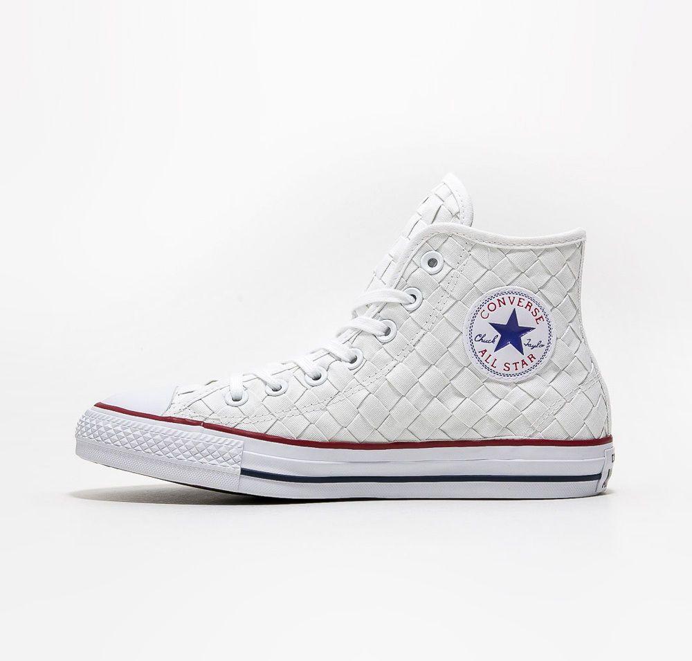 CONVERSE All Star Chucks Hi Woven - white - 151231C NEU