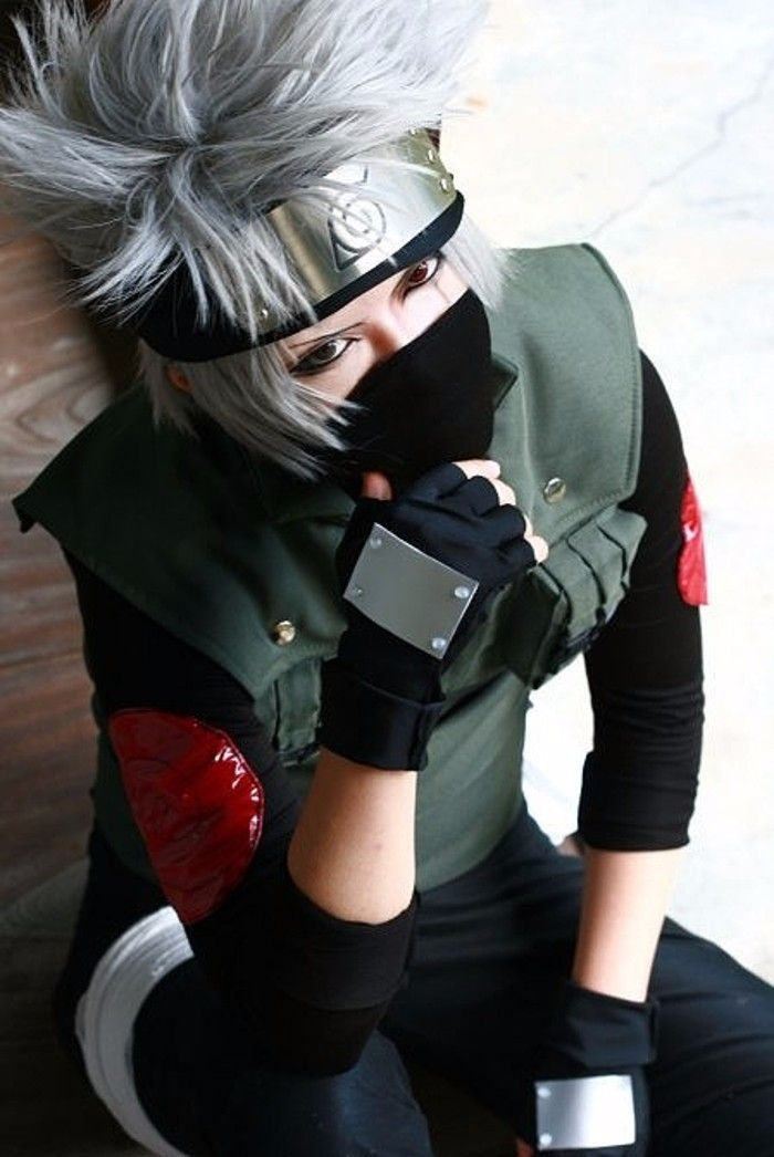 Photo of Naruto Kakashi Shinobi Cosplay Vest