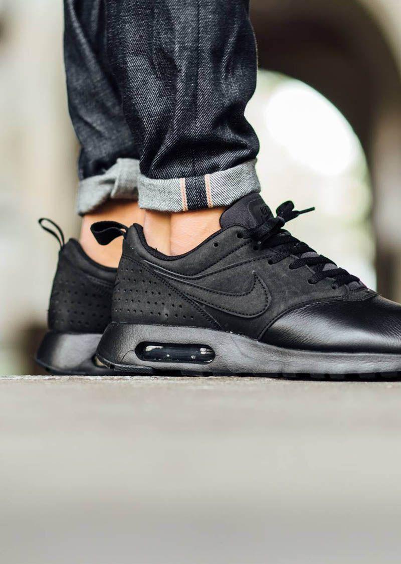 Nike Air Max Tavas Jeans Pour Hommes Blancs