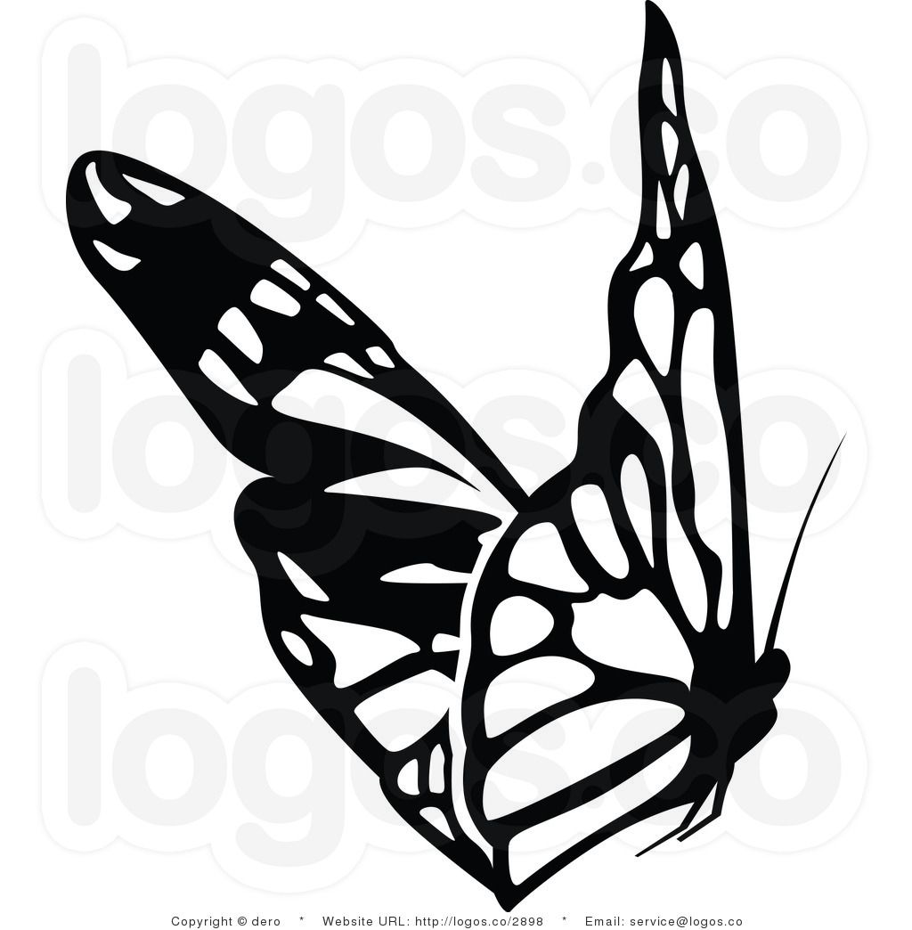 free photos black and white black and white butterfly logo