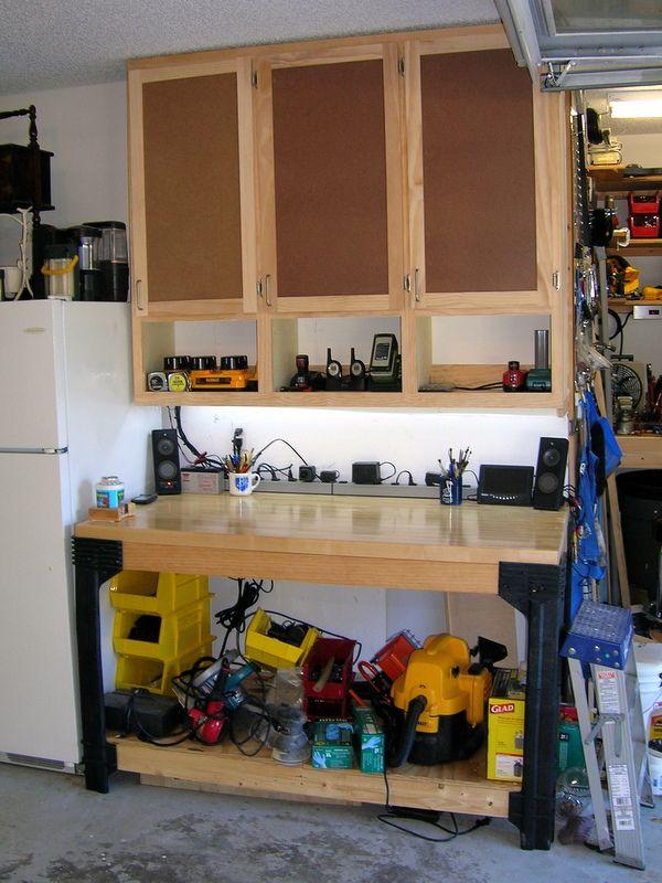 Unique Workbench Shelving Ideas