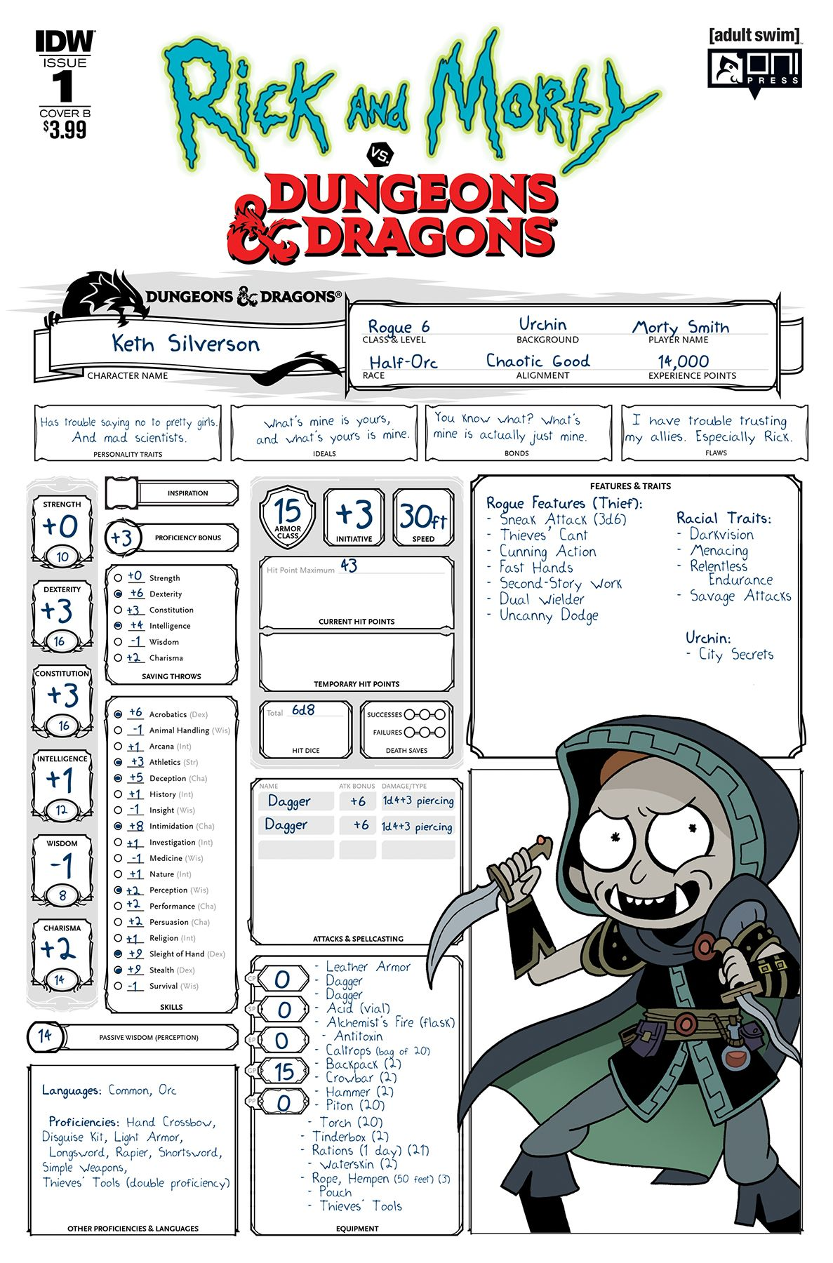 Rick And Morty Vs Dungeons Amp Dragons 1 Dungeons And Dragons