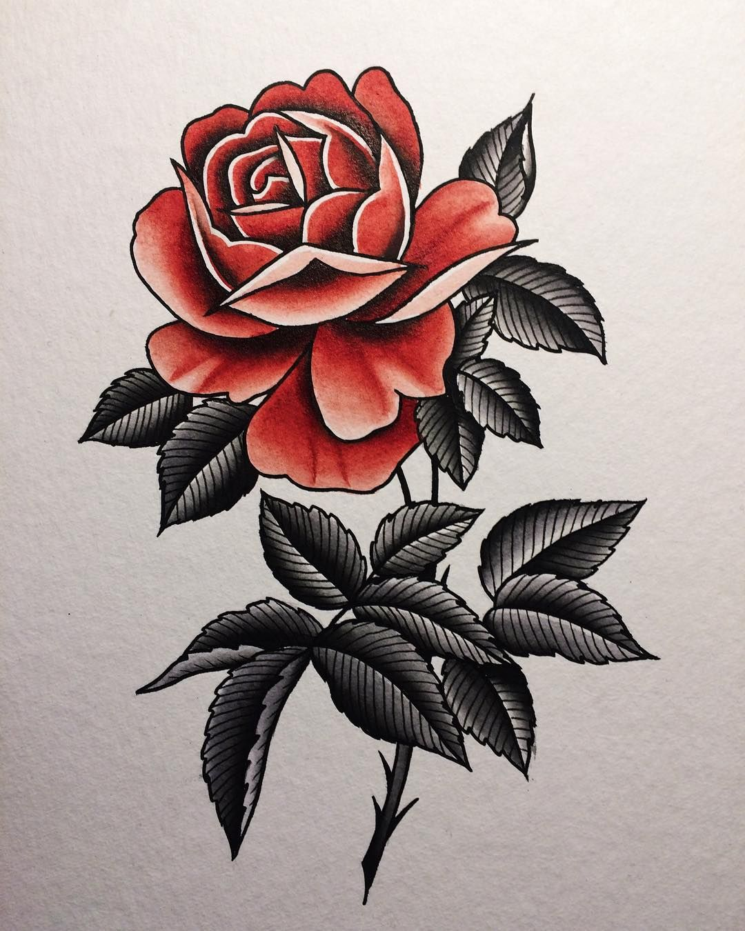 Old School Tattoo Red And Yellow Roses Traditional Rose Tattoos Traditional Tattoo Tattoos