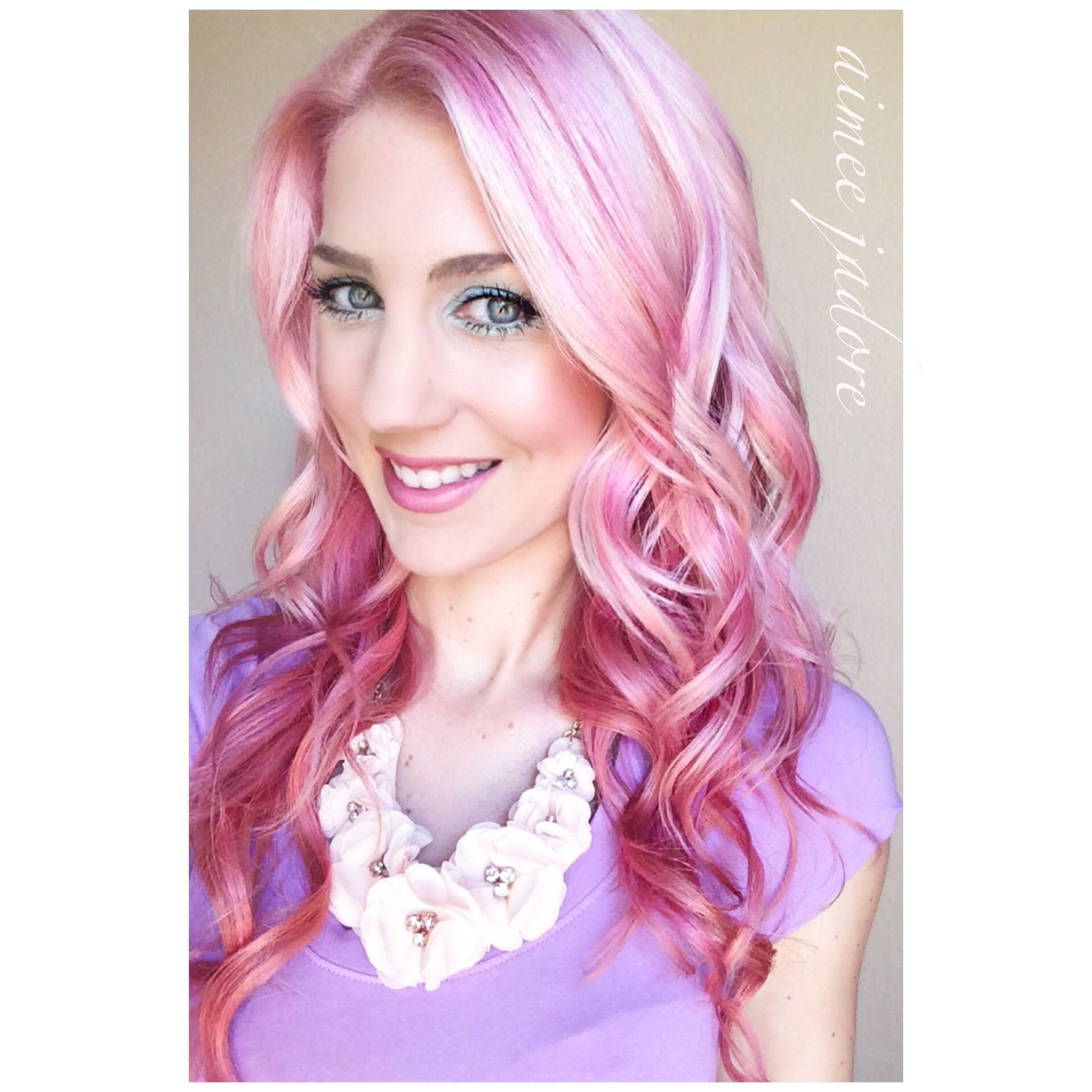 My New Hairsies Pastel Hair Pink Hair Pravana Pink Hair