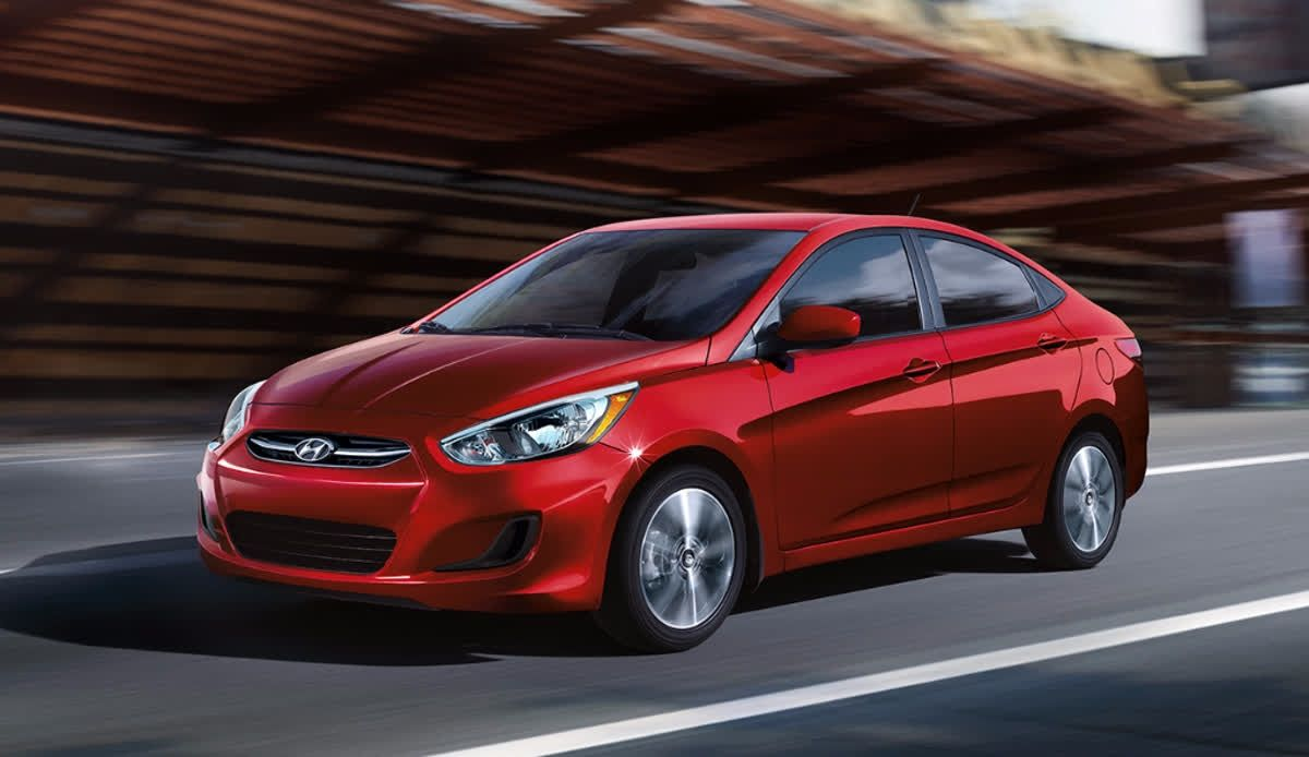 You'll love the Hyundai Accent's roomy interior