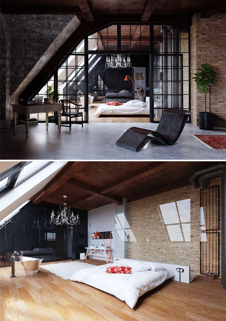 construire loft pas cher good gallery of chambre carrelage parquet salle de bain et salle de. Black Bedroom Furniture Sets. Home Design Ideas
