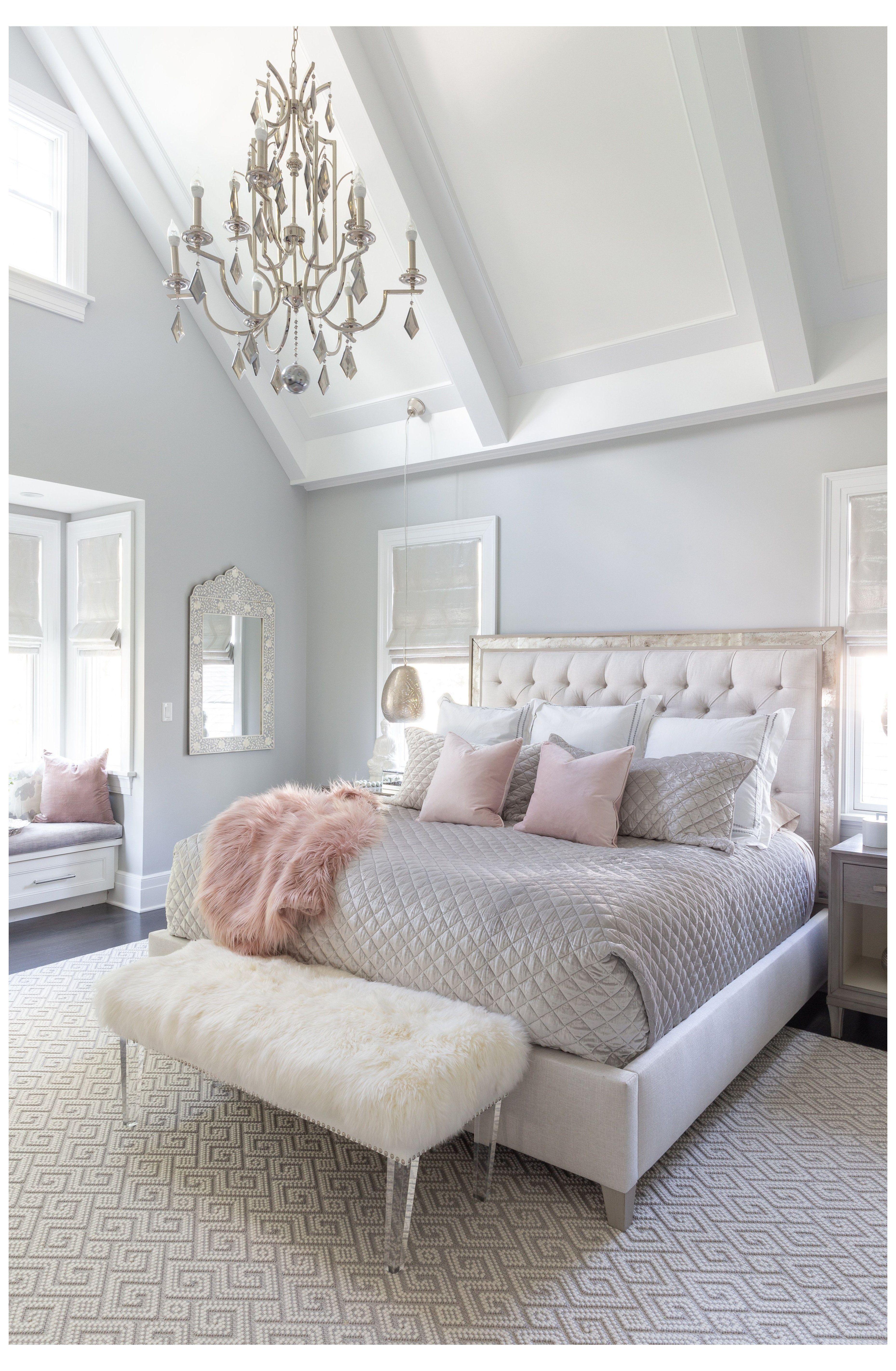 Master Bedroom Decor Romantic Romantic Master Bedroom In 2021 Interior Design Bedroom Small Luxurious Bedrooms Master Bedrooms Decor