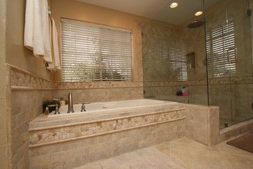 pacific coast custom design. blissful master bathroom