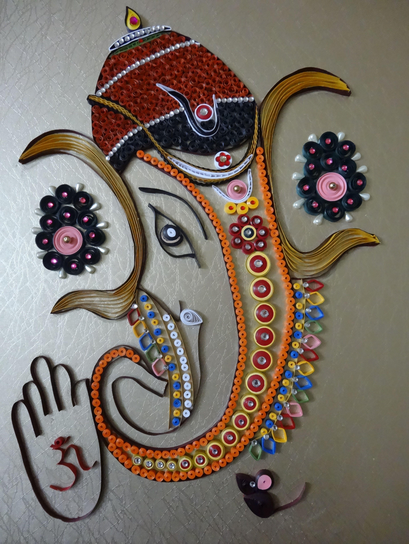 Awesome Modern Ganesh Wall Art