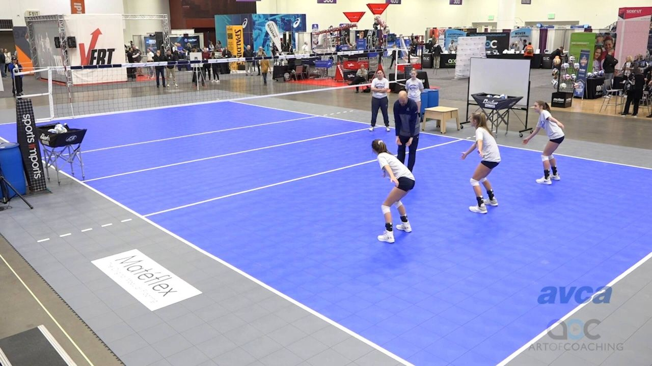Big Point Little Point Serve Receive Drill The Art Of Coaching Volleyball Volleyball Serve Coaching Volleyball Drill