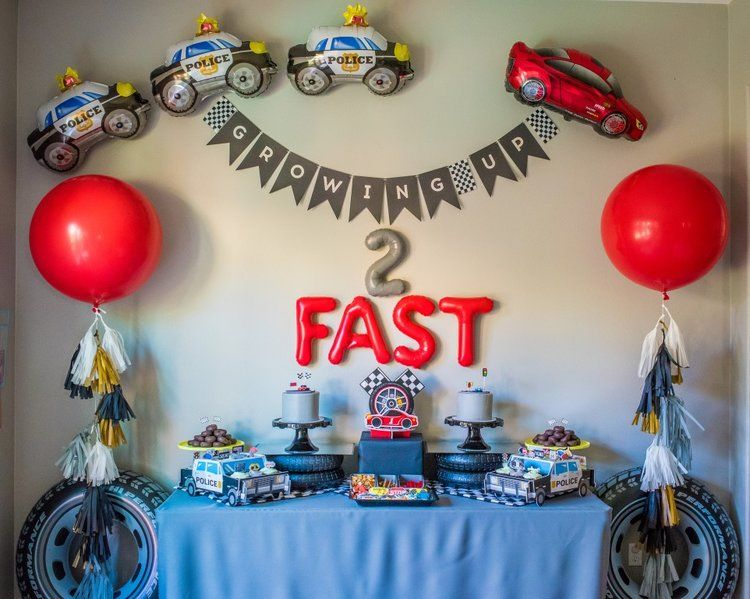 Pin On Racing Birthday Party