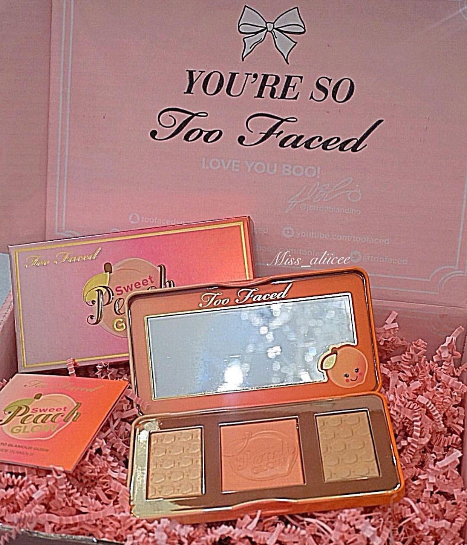 Too Faced Sweet Peach blush palette