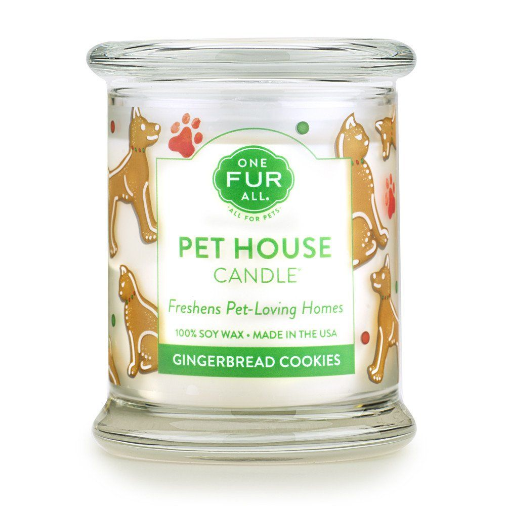 Gingerbread Cookies Pet House Candle Onefurall Pets Candles Candle Cookies Pet Odor Candles Candles