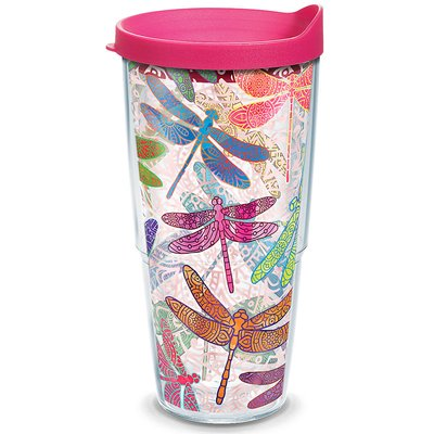 Tervis Tumbler Garden Party Dragonfly Mandala Insulated Tumbler Size: 24 Oz.