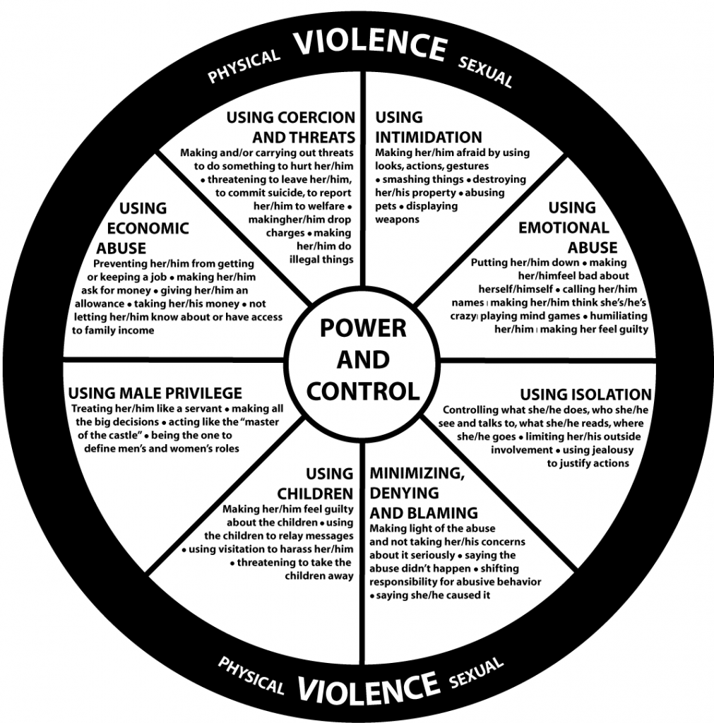 The Duluth Model: The Power and Control Wheel