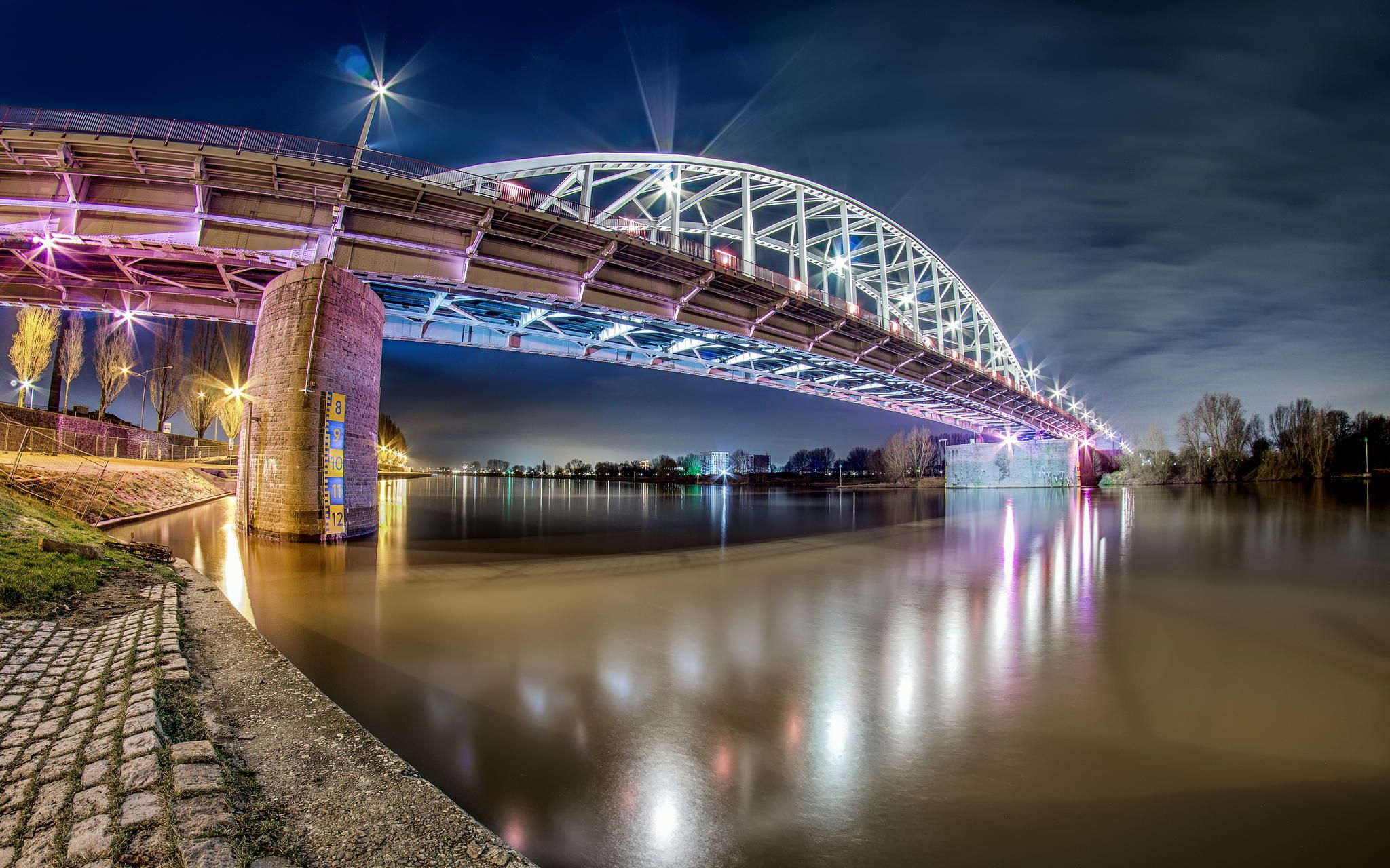 John Frost Bridge Arnhem Bridge Netherlands