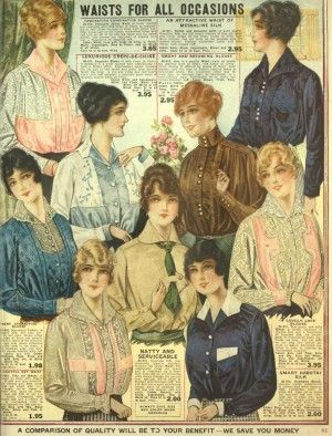 Edwardian style blouse and tops
