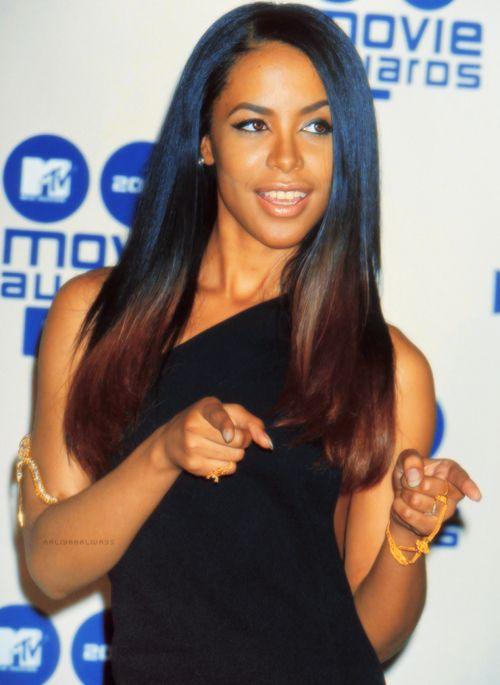 ombre hair - google aaliyah