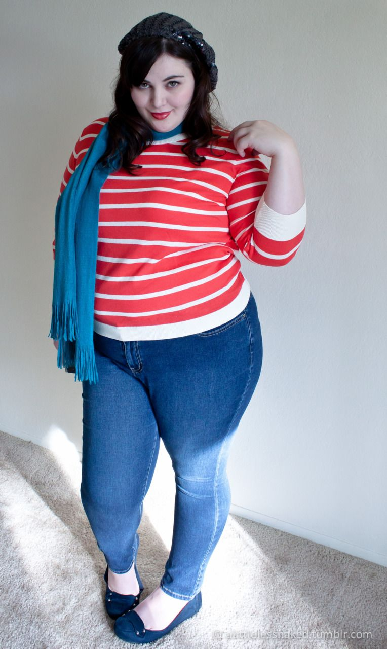 Red, White, And Blue Fat Bbw Curvy Fullfigured Chubby -6414