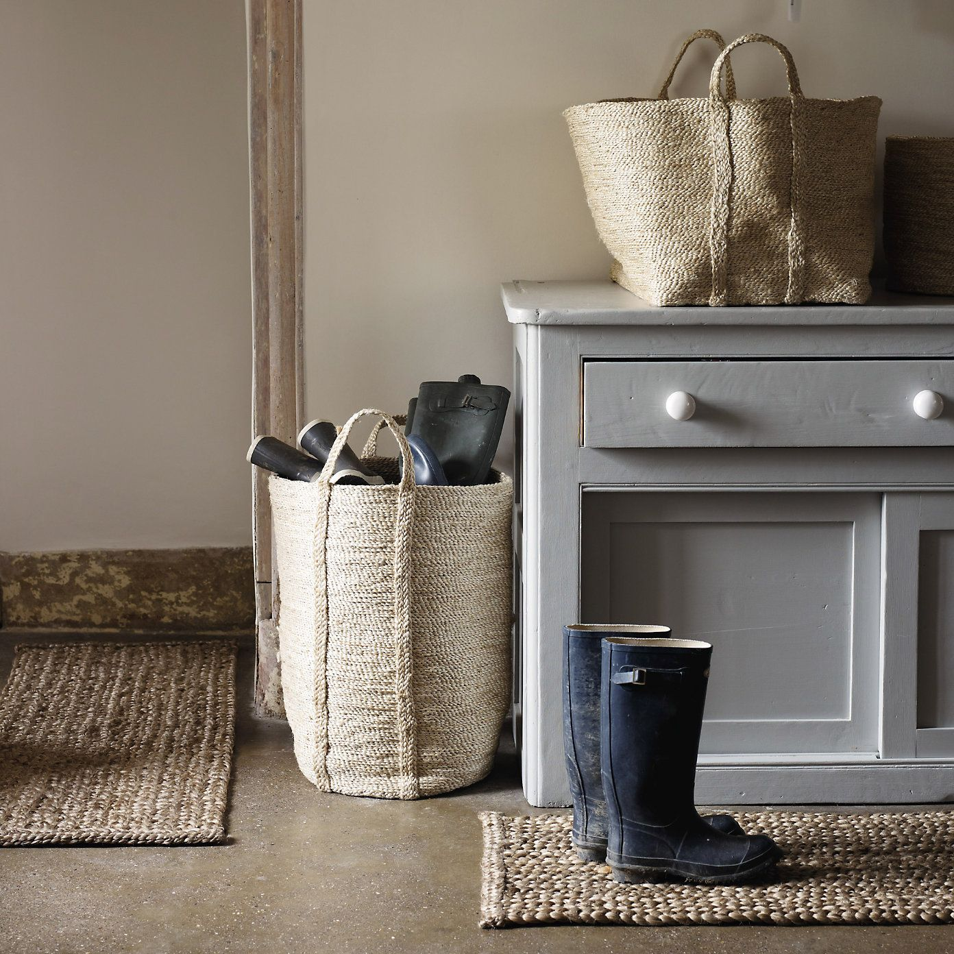 Buy Home Accessories U003e Laundry U0026 Storage U003e Large Jute Basket From The White  Company