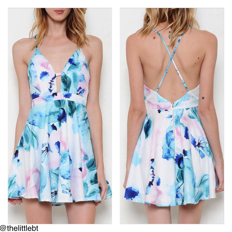 The waterfall dress