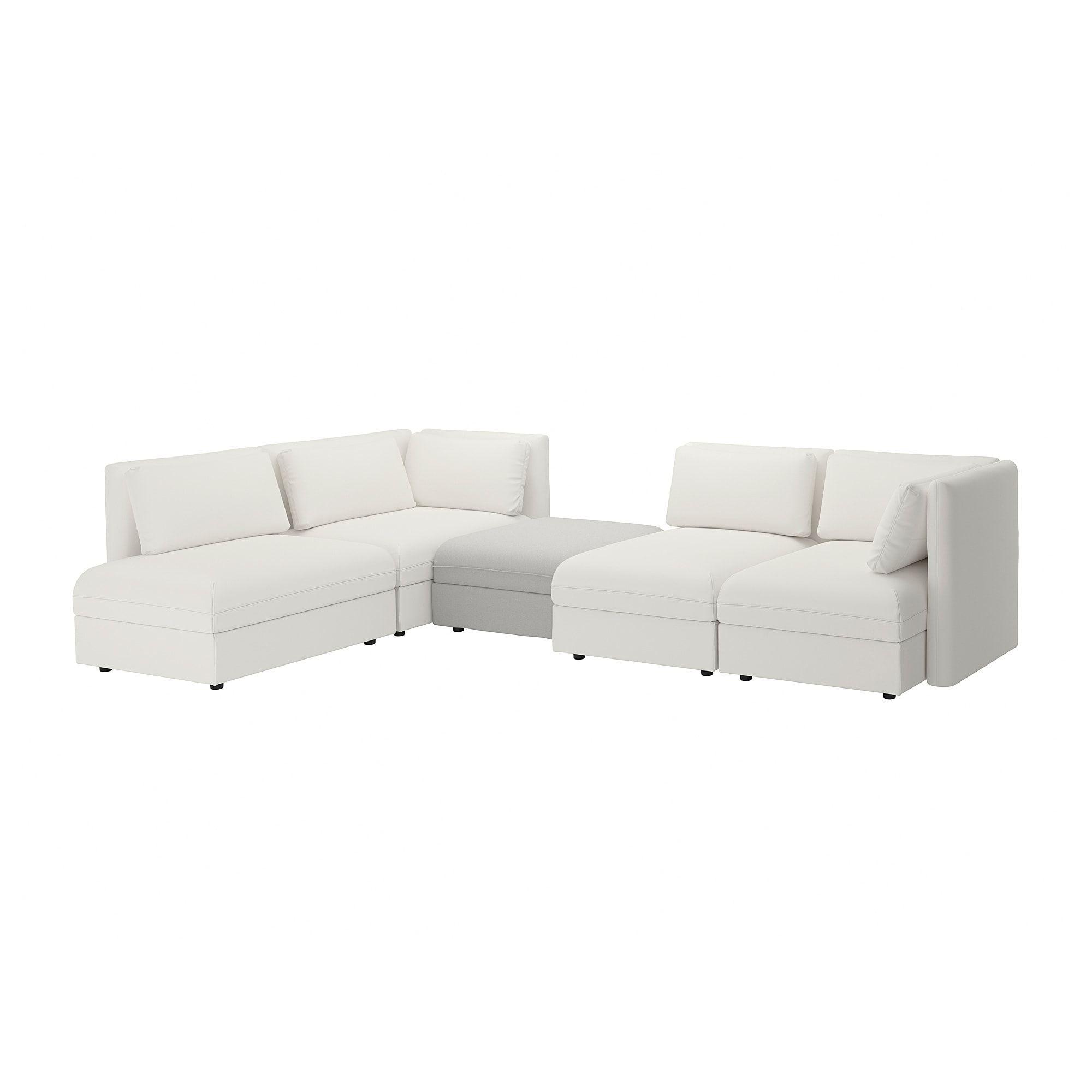 Modular Corner Sofa 4 Seat Vallentuna With Storage Murum