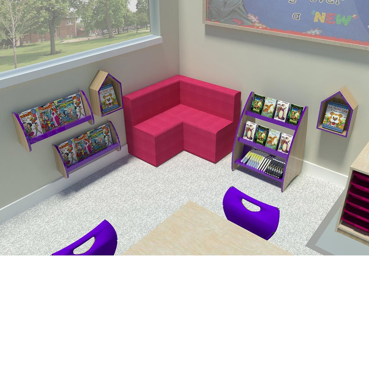 Reading Corner Furniture story corner furniture - perfect for ks1 reading corners in