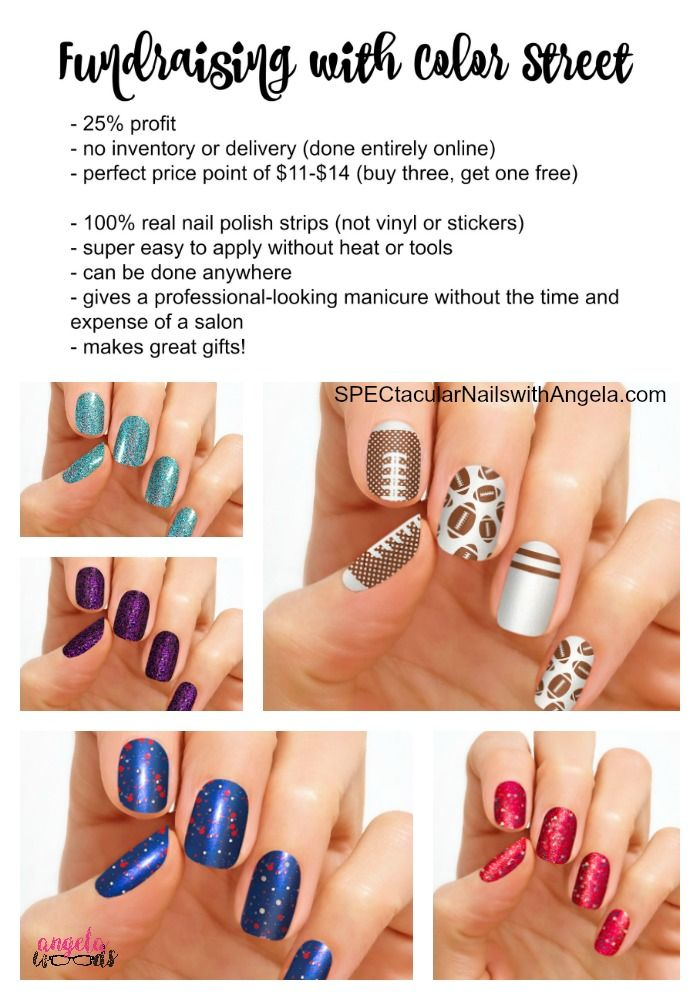Easiest Fundraiser Ever Done All Online No Need To Collect Money Or Deliver Product Color Street Makes 100 Real Nail Polish Strip