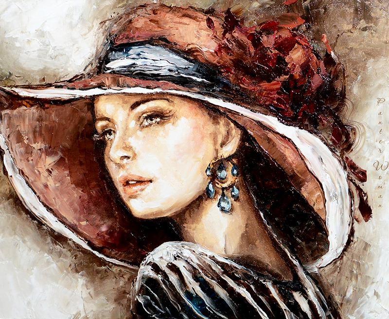 Женщины живопись картинки
