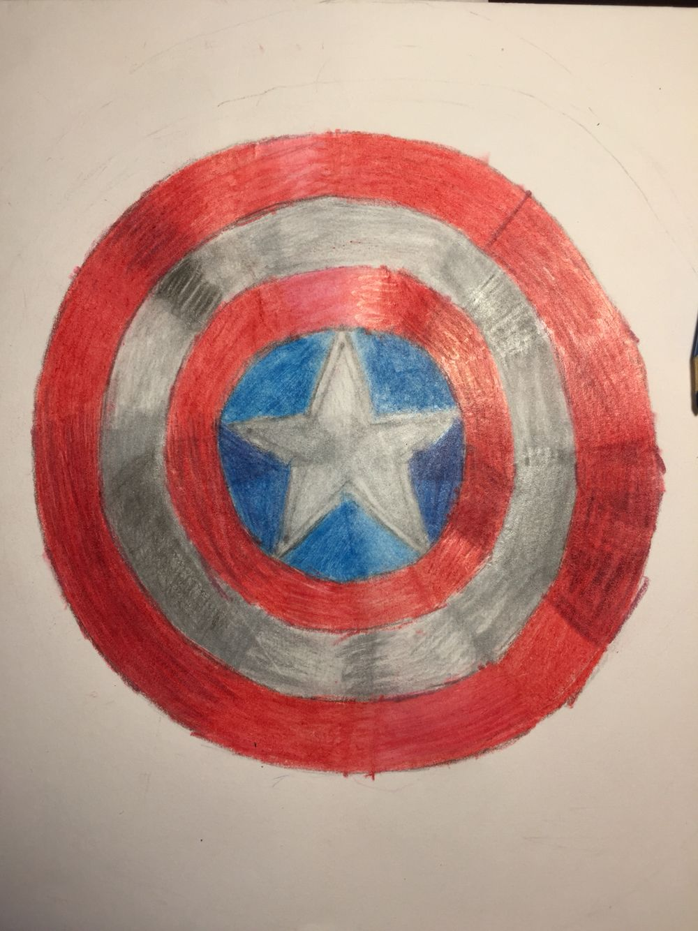 Captain America! More Marvel soon to come!
