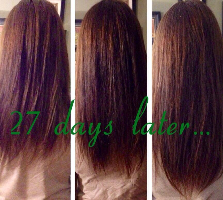 It Works hair skin & Nails Longer Fuller hair in 27 days! Questions ...